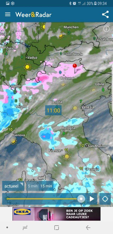 Foto bij weerbericht reactie 43424